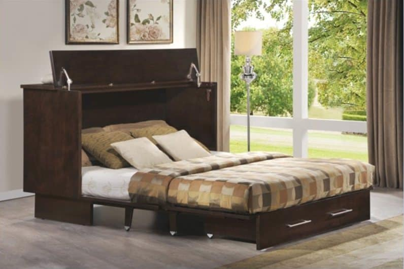 Queen Size Folding Guest Bed