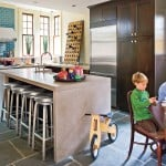 Stylish Kitchen Island Design Ideas With Seating (SMART Tables,Carts & Lighting)