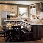 27 Captivating Ideas For Kitchen Island with Seating and Dining Tables
