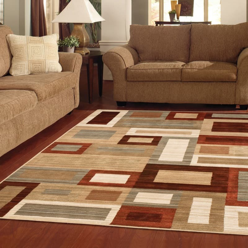 Lay a foundation with rugs