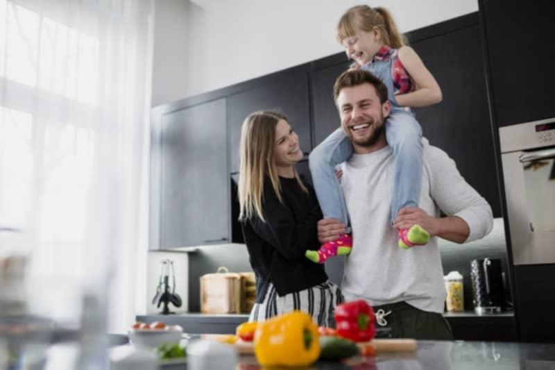 Child- Friendly kitchen