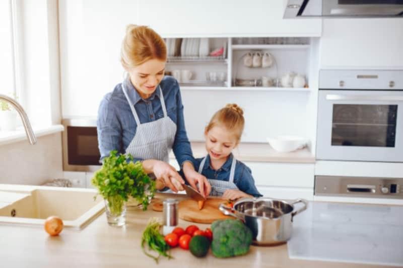 Safe kitchen for kids