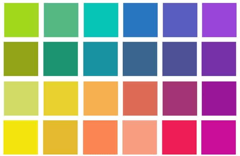 Pleasing colors