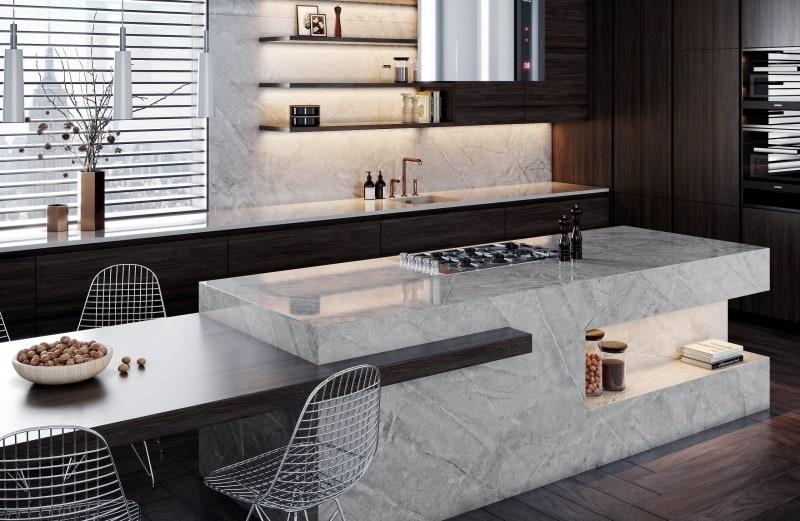 Dekton Slim for Minimalistic Kitchen Designs