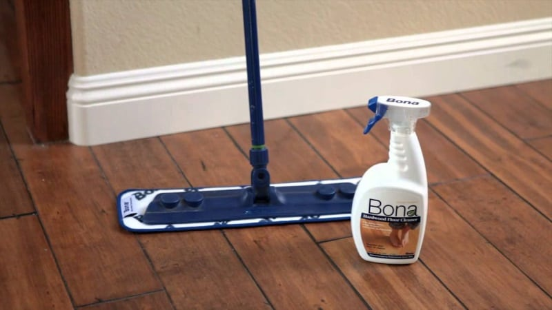 Cleaning the spills on immediate basis