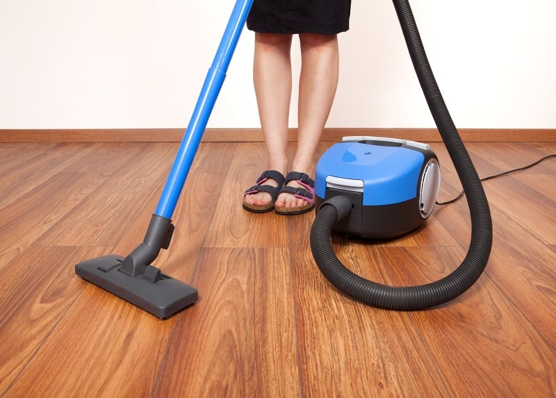 Regular vacuum cleaning