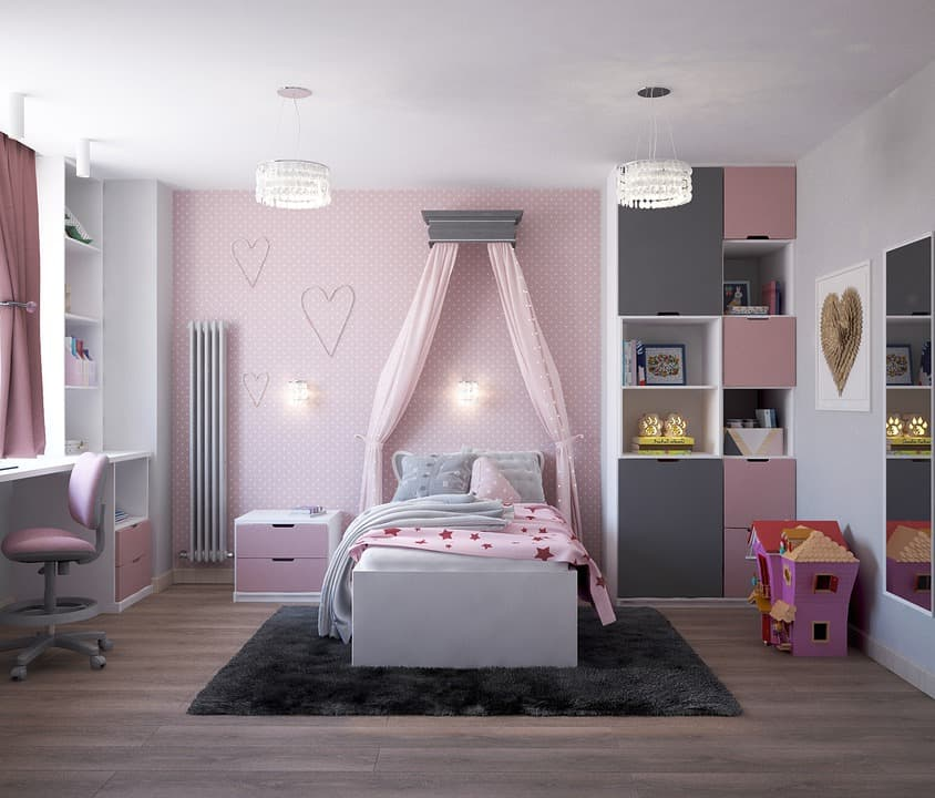 Children's Room on a Budget
