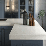 Marble-effect Porcelain Vs Ceramics Worktops for a Functional Kitchen