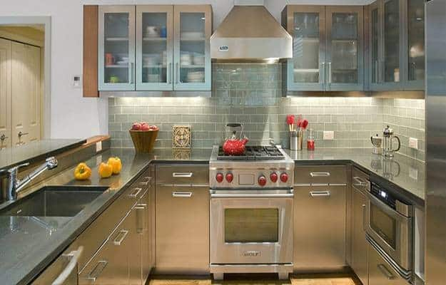 steel countertops