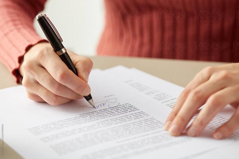 dream home contract