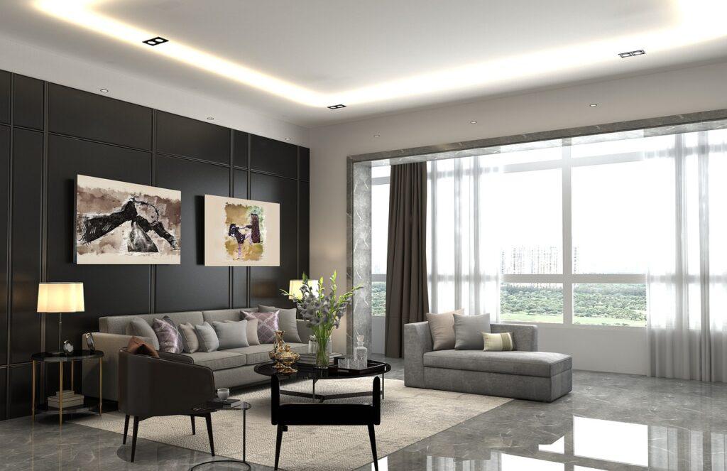 family-friendly living room